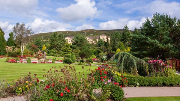 Landscaped Gardens at Carrickdale Hotel